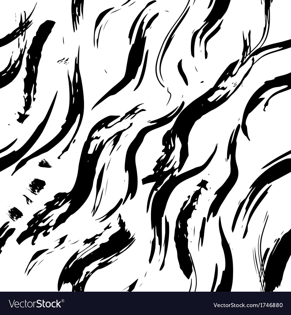 Grungy waves seamles pattern vector