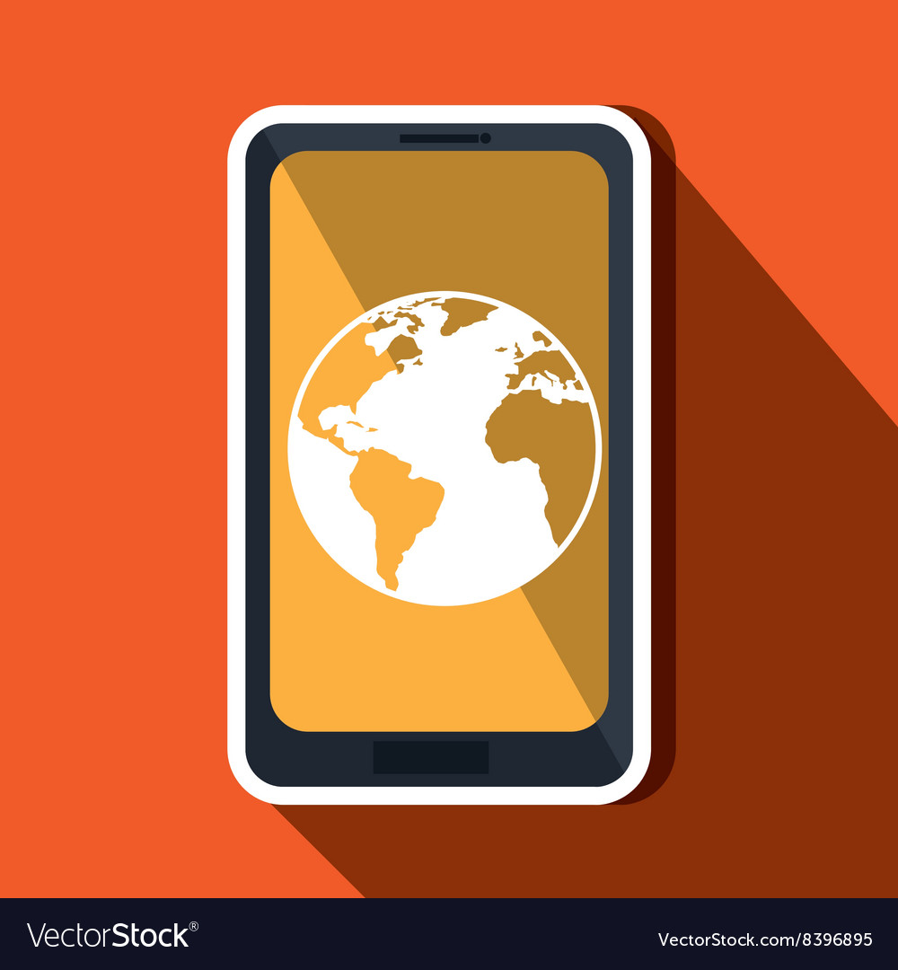 Smartphone business design vector