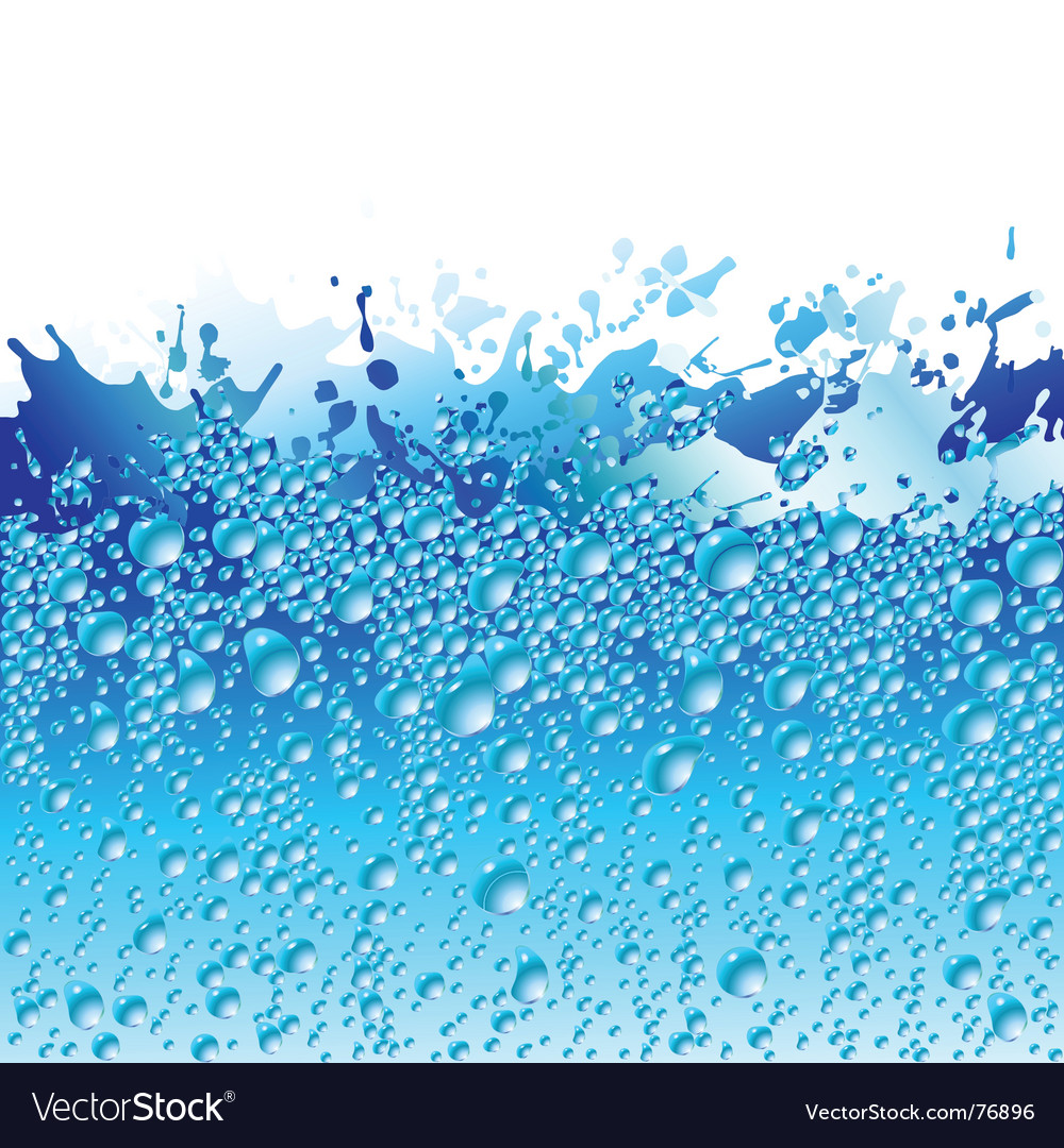 Background splash vector