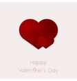 valentine heart 2017 vector image