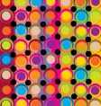 funky background vector image vector image