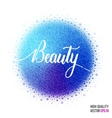 Beauty design for greeting card template woman vector image