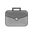 business briefcase handle accessory concept vector image