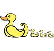Mother Duck vector image