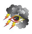 one eye of god vector image