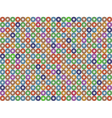 Donuts pattern vector image