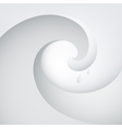 abstract wave with water drops vector image