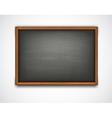 Black class board vector image