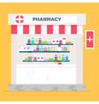 Pharmacy Store vector image