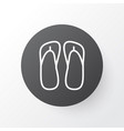 thongs icon symbol premium quality isolated vector image