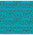 seamless glasses vector image vector image