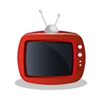 old tv appliance icon vector image
