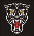 Panther - print vector image vector image