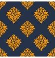 Retro orange seamless pattern vector image