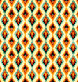 vintage diamond seamless pattern vector image