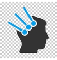 Neural Interface Connectors Icon vector image