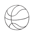 Basketball ball Icon Outlined vector image