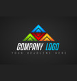 creative logo letter design for brand identity vector image