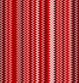 seamless red chevron pattern background retro vector image