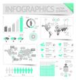 Infographic design elements vector image