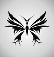 Tribal Butterfly Tattoo vector image vector image