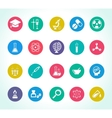 scientific research icons vector image