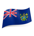 Flag of Pitcairn Islands vector image