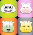 Funny Dimsum vector image