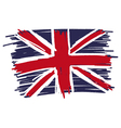 Flag of United Kingdom UK Great Britain handmade vector image