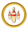 Skittles icon cartoon style vector image