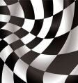 checkered flap vector image