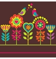 Decorative colorful flower vector image vector image