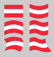 Austria flag Set of flags o Austrian Republic in vector image