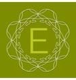 Monogram Design vector image
