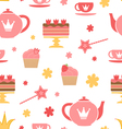 Royal tea party vector image