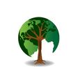world tree vector image
