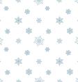 snowflake pastel blue white background vector image
