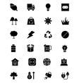 Ecology Icons 4 vector image
