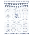Collection of Banners Ribbons and Frames vector image