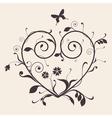 Heart Vintage vector image