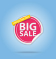 big sale special offer best price label vector image
