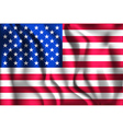 Flag of United States of America Ratio 2 to 3 vector image