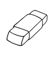 Eraser icon Outlined vector image
