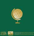 globe symbol icon geography vector image