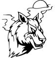 wolf - halloween set - vector image