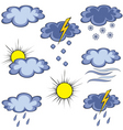 graffito weather icon vector image vector image