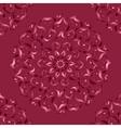 Mandala Abstract drawing with floral motif vector image