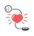 blood pressure measuring vector image