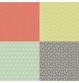 Retro Seamless Patterns Set vector image vector image