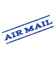 Air Mail Watermark Stamp vector image
